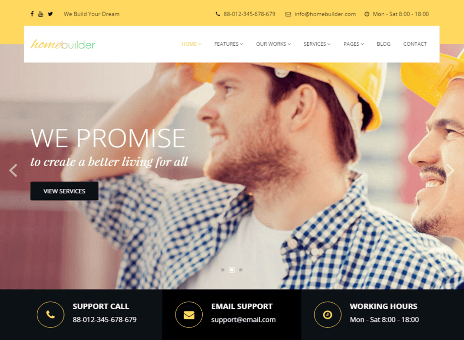 Home Builder Theme