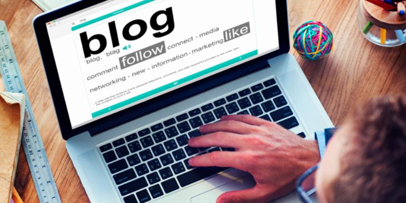 start blog
